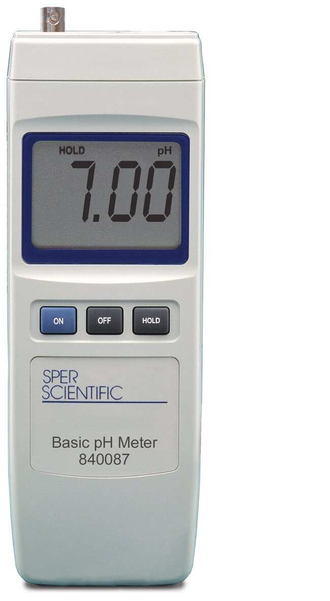 Sper Scientific Basic pH Meter Teaching SuppliesChemistry Classroom - Basic P&l