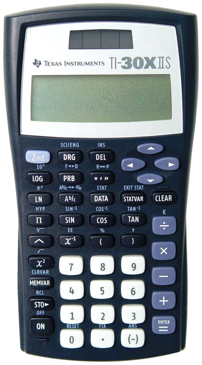 Texas Instruments TI-30X IIS Calculator TI-30X IIS Scientific