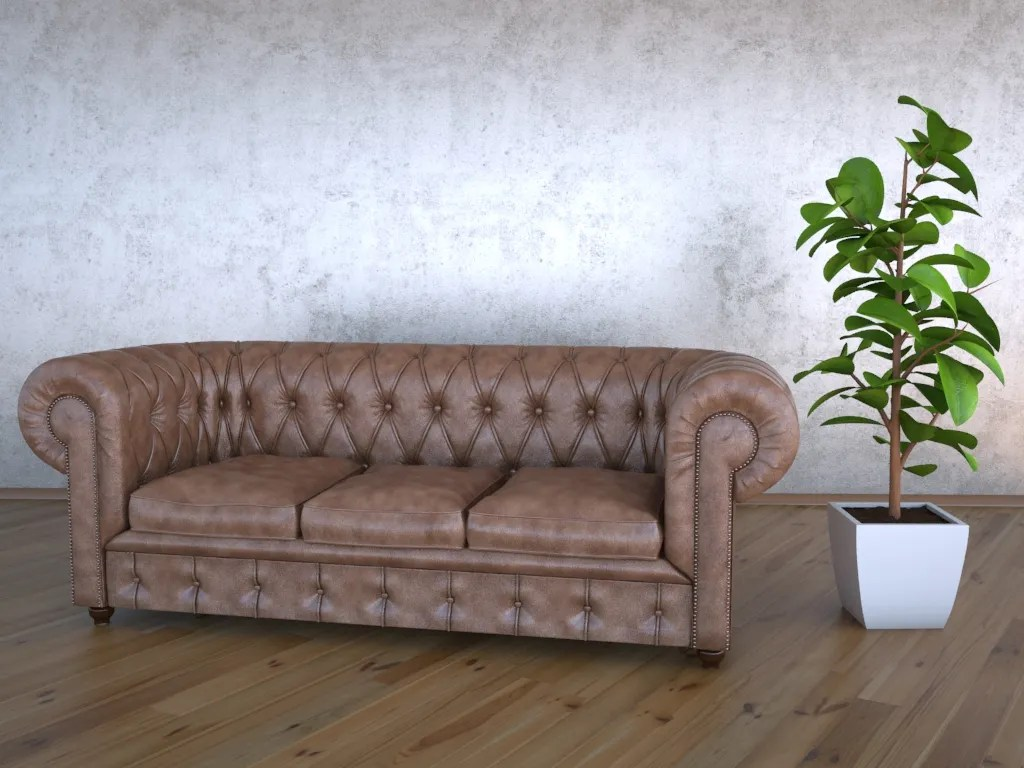 Buy A Chesterfield Sofa Chesterfield Sofa 3d Model Buy Chesterfield Sofa 3d