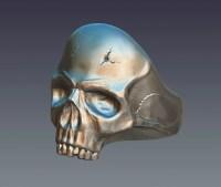 Skull ring 3D Model  Buy Skull ring 3D Model | FlatPyramid
