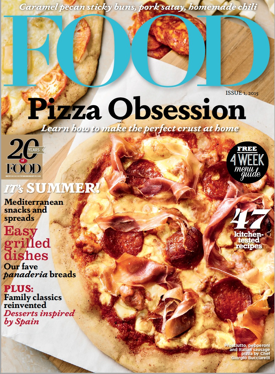 Pizza Family Braunschweig Food Magazine Fonts In Use