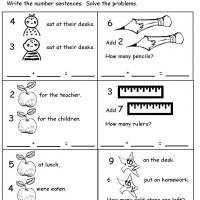 math worksheet : first grade addition subtraction worksheets animal addition  : Addition And Subtraction Word Problems Worksheets 1st Grade