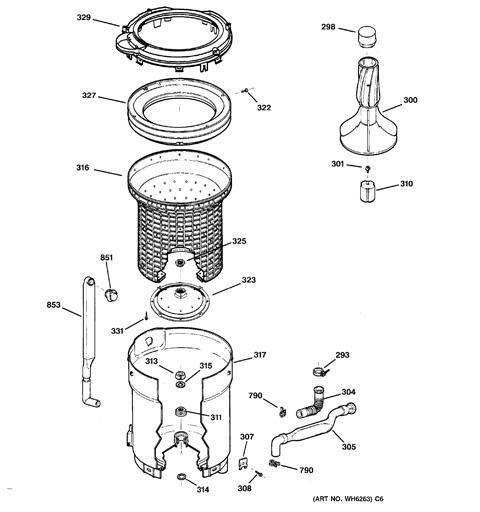 wiring diagram ge washer gfwn1000lww