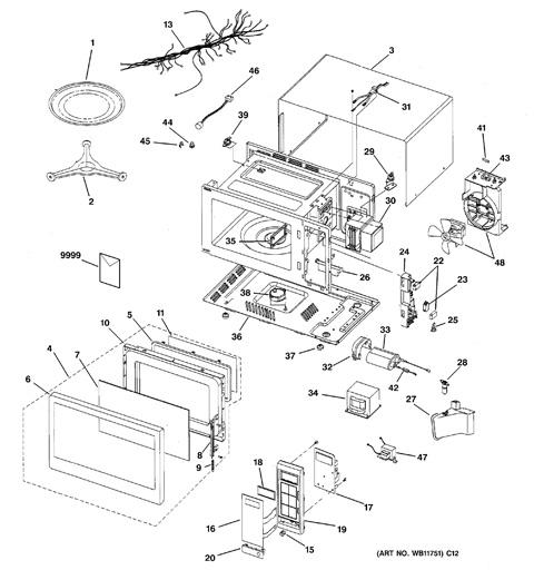ge microwave wiring schematic