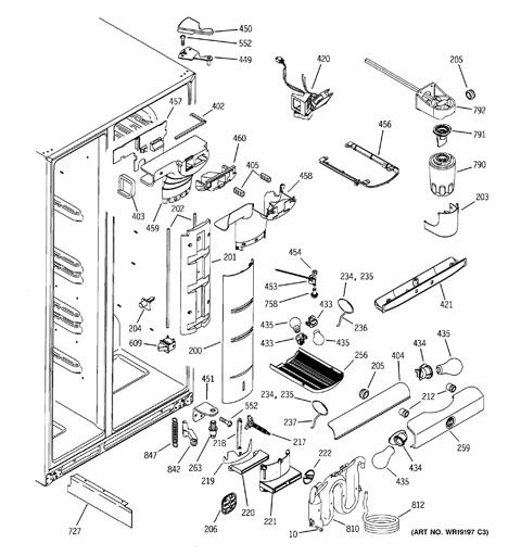 sub zero ice maker wiring diagram