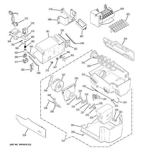 ge sxs refrigerator wiring diagram