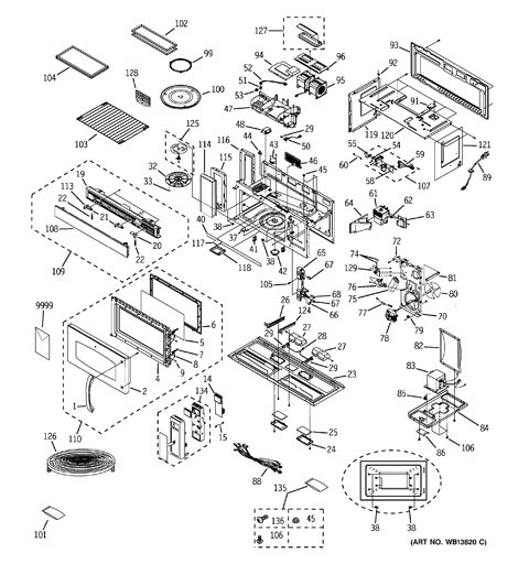 ge spacemaker microwave schematic