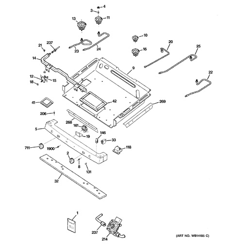 wiring diagram likewise jenn air oven parts diagram on appliances