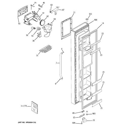 Ge Refrigerator Wiring Diagrams Gss25wstss Wiring Diagram