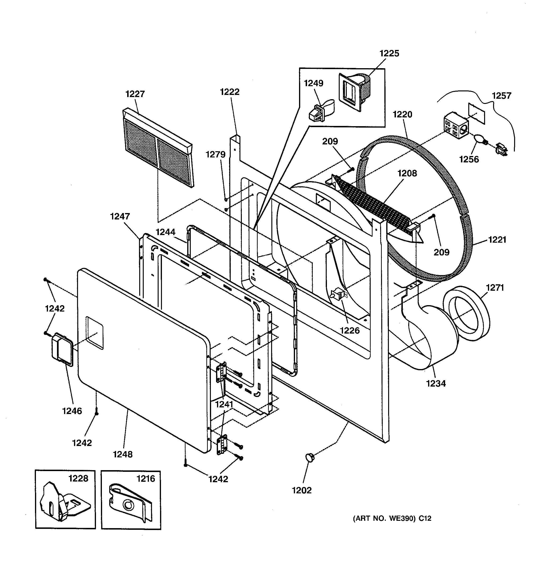 ge drum switch wiring diagram auto electrical wiring diagramassembly view for front panel u0026 door