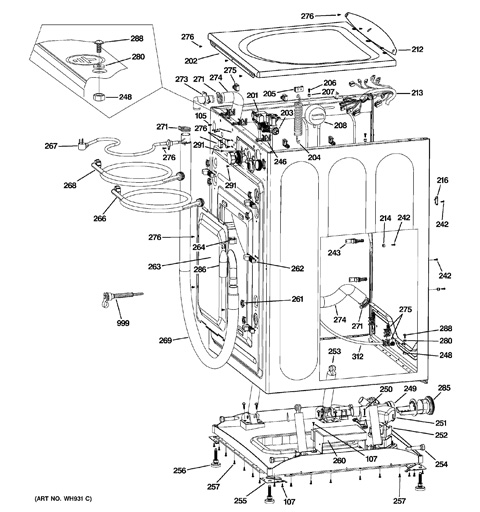 ge washer hydro wave wiring diagram