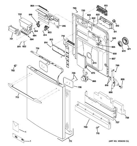 ge dishwasher keypad wiring diagrams