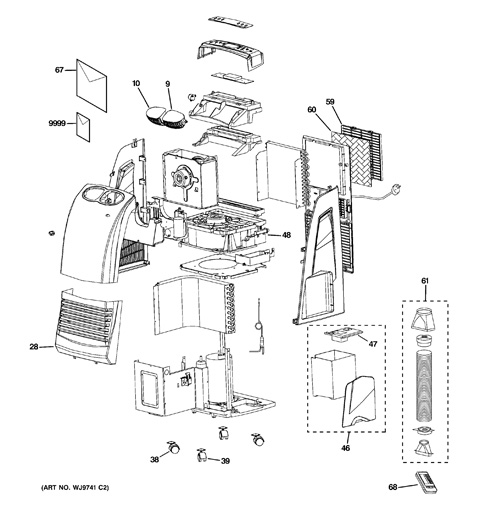ge ahs08lx air conditioner manual