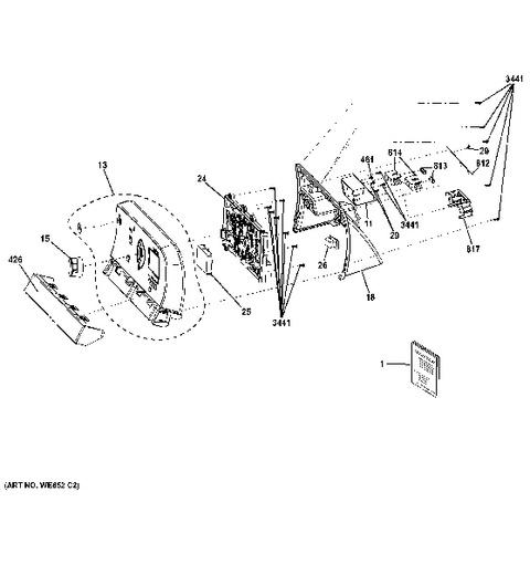 dryer replacement parts on electric clothes dryer parts diagram