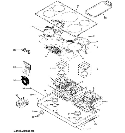 ge cafe induction cooktop manual