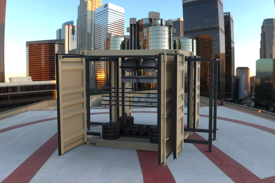 Portable Outdoor Gym Equipment