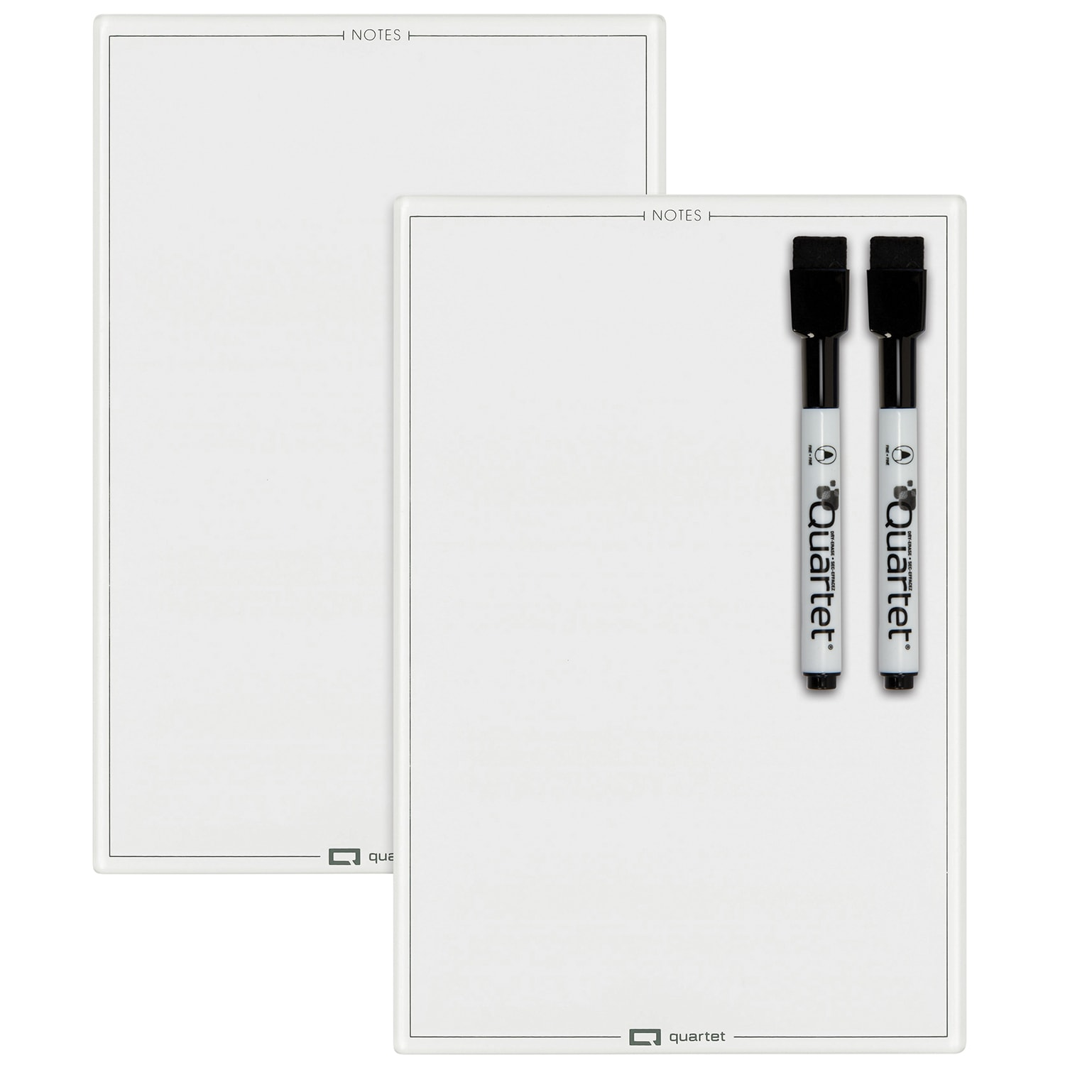 Quartet Glass Memo Board White 9