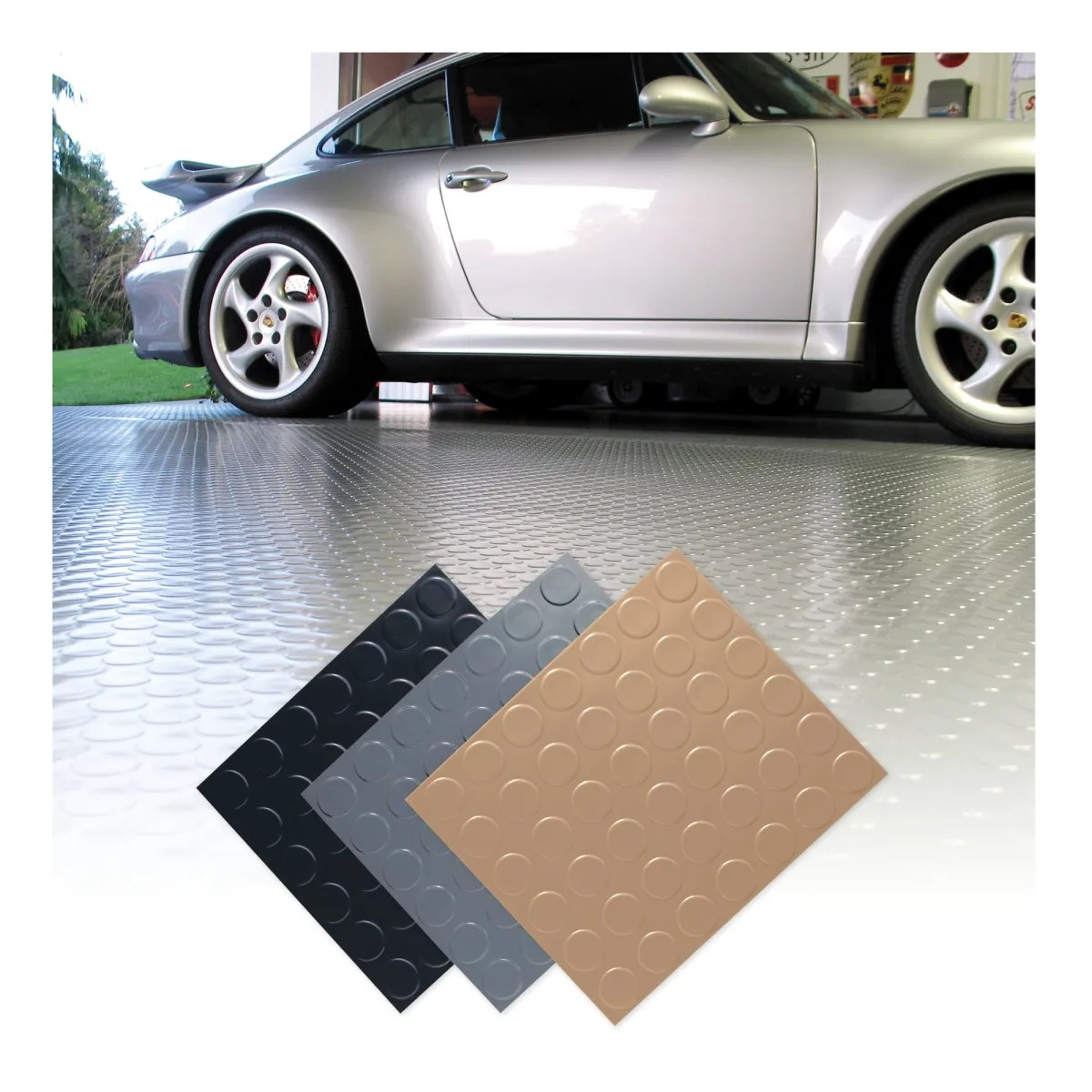 Coin Top Garage Floor Mat Griot S Garage