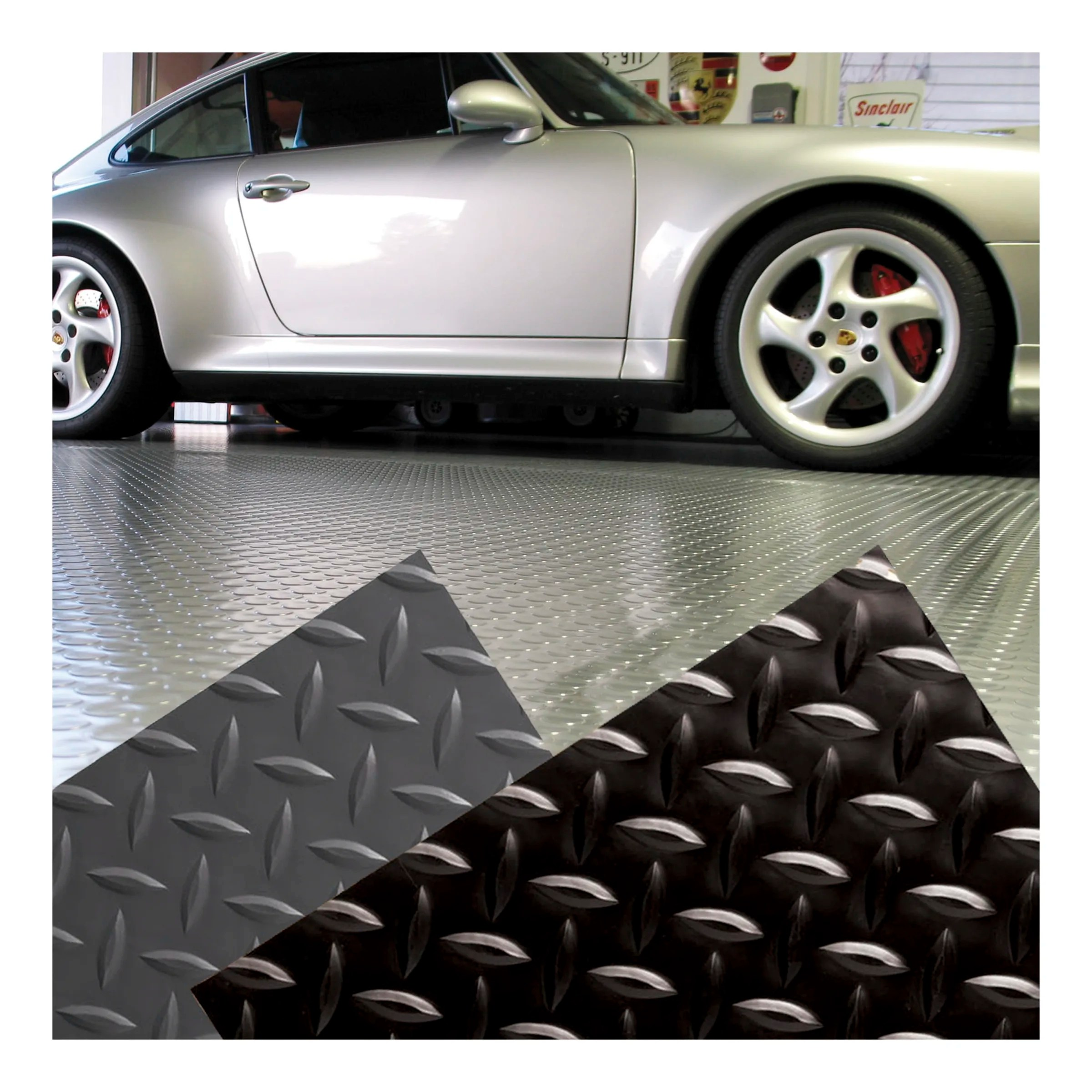 Diamond Plate Garage Floor Mat Griot S Garage