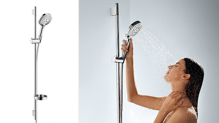 Handdouche Grohe Shower Head, Shower Bar And Shelf | Hansgrohe Int