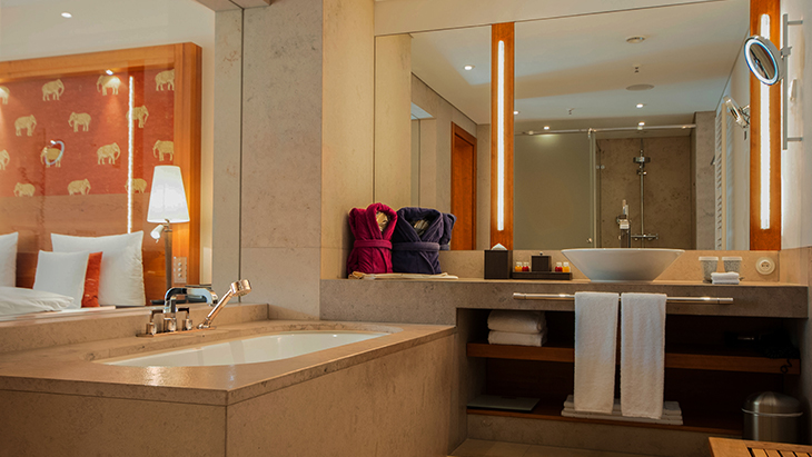 Axor Citterio hotel reference project Hansgrohe INT - badezimmer schloss