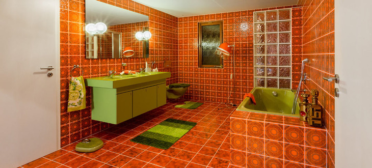 70er Jahre Design Exhibition: The Bathroom Of The Seventies | Hansgrohe Group