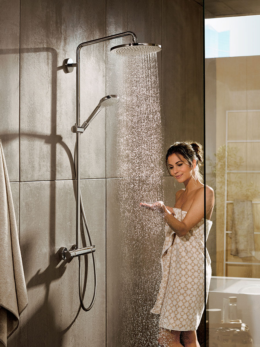 Hans Grohe Hansgrohe Croma Comfortable Showering For All Hansgrohe Usa