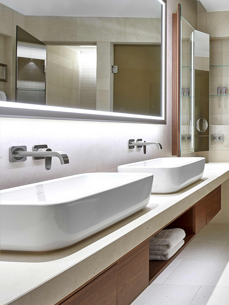 Badezimmer Country Style International References Prove Project Expertise Hansgrohe Group