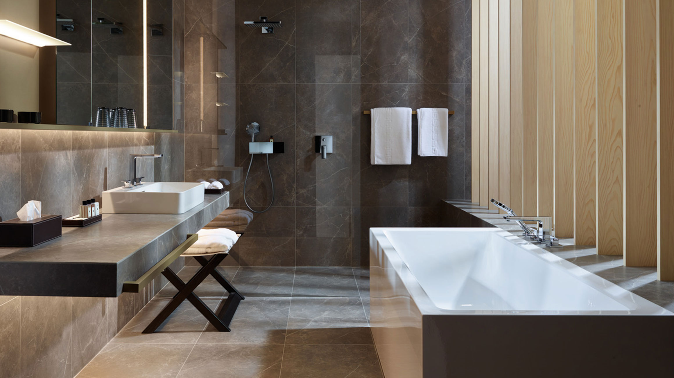 Furnish An Exquisitely Elegant Dream Bathroom Hansgrohe Usa