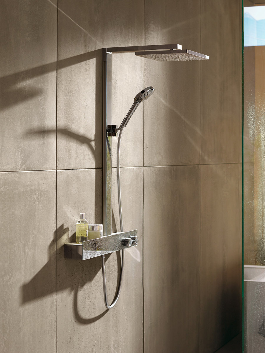 Exposed Installation Benefits More Hansgrohe Usa