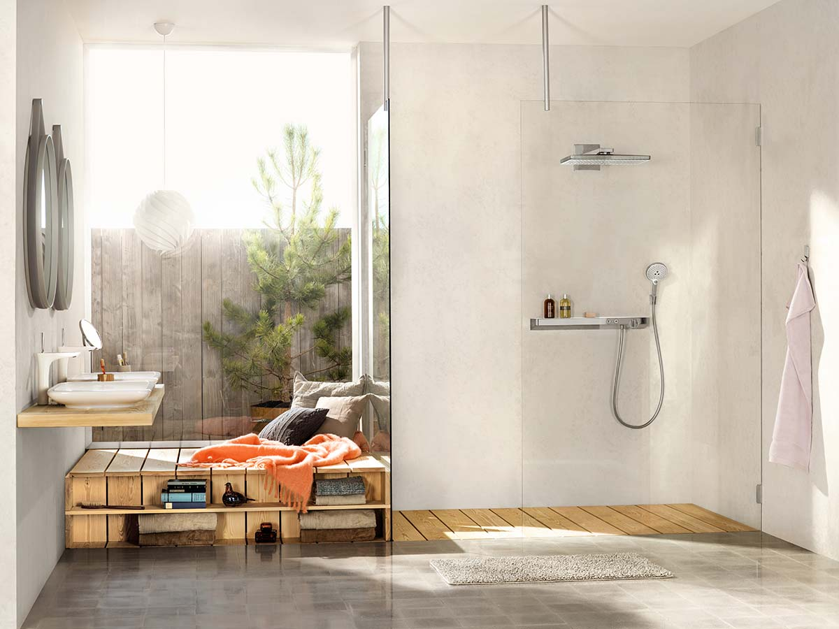 Badezimmer Set Trends Bathroom Trends Creative Home Furnishing Trends Hansgrohe Int