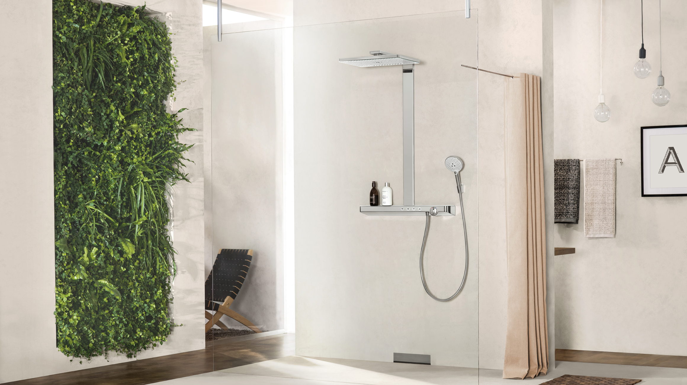 Advantages Of Exposed Installation Mixers Hansgrohe Int