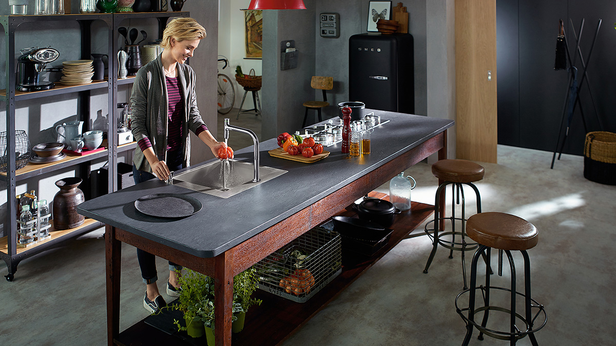 Create An Industrial Style Kitchen Hansgrohe Int