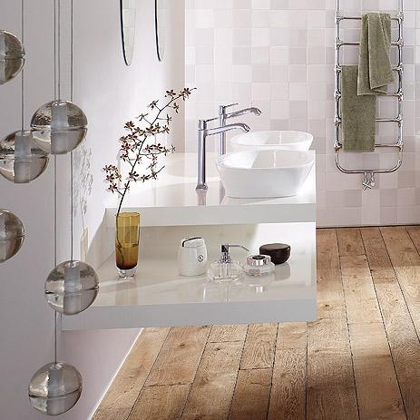 Bad-Trend Farbe im Badezimmer Hansgrohe DE - badezimmer farbgestaltung