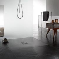 Floor-level shower bathroom trend   Hansgrohe US