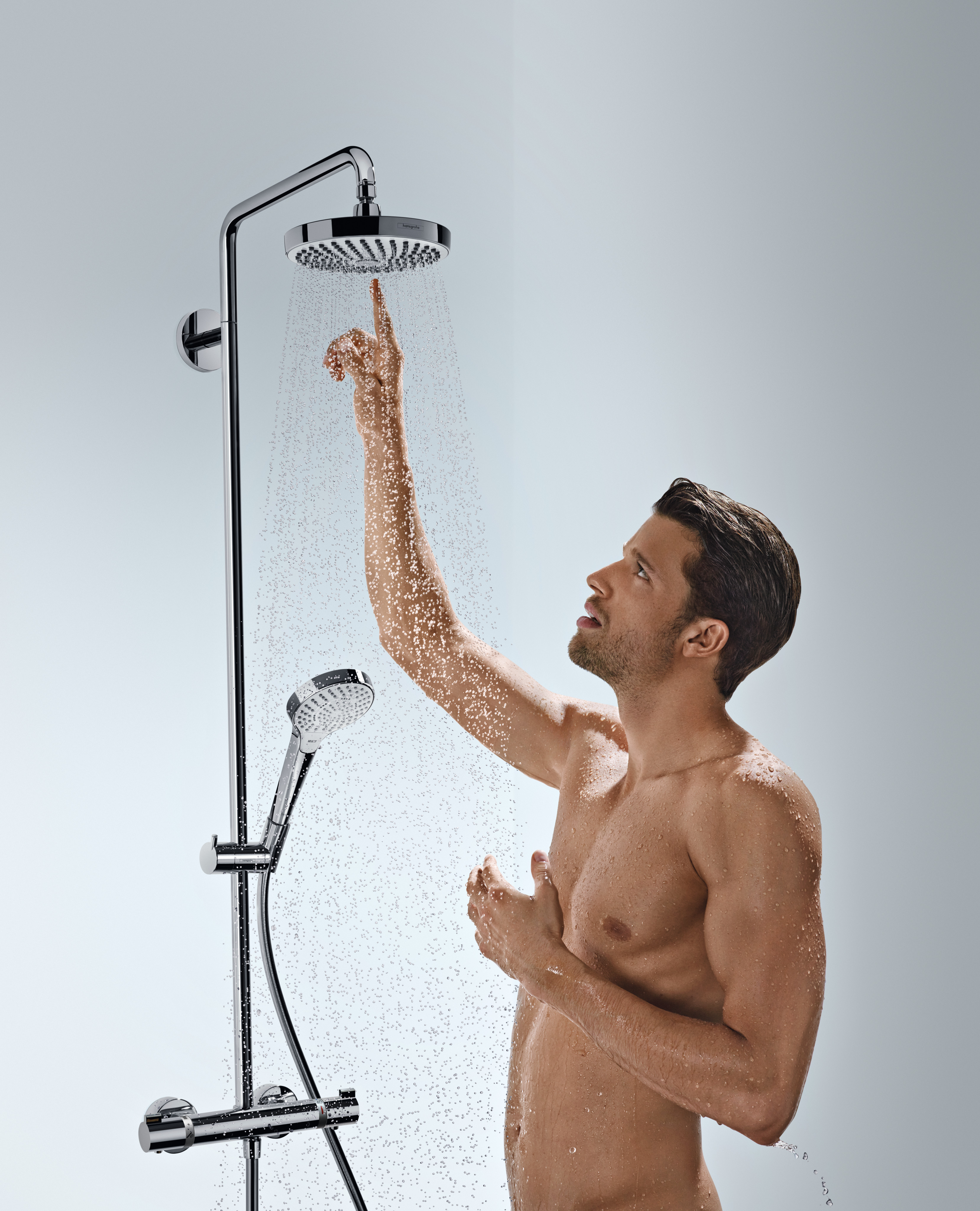 Hansgrohe Croma 2jet Hansgrohe Showerpipes Croma Select S 2 Straalsoorten Art Nr