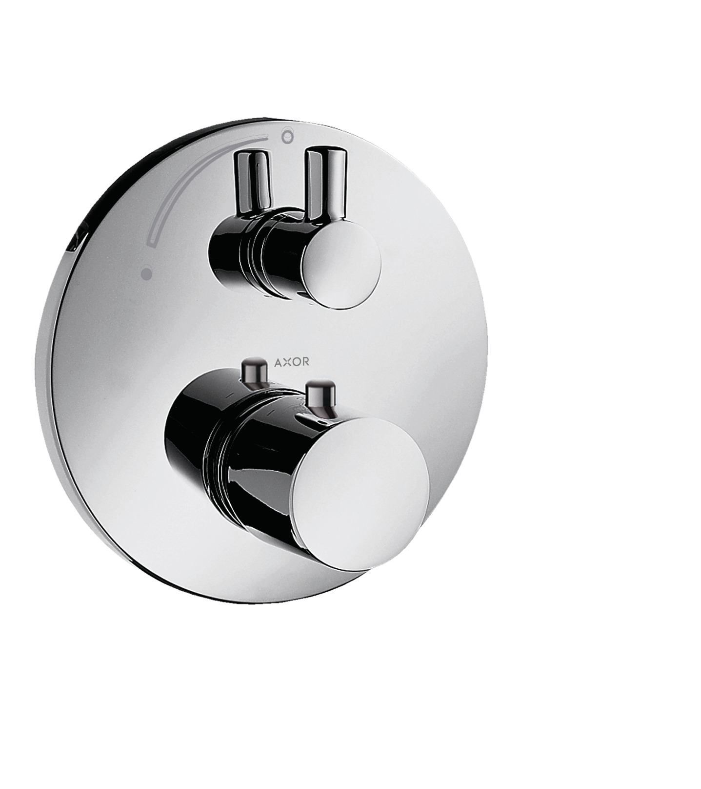 Up Duscharmatur Axor Uno Shower Mixers 1 Outlet Chrome 38700000