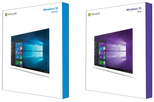 This is what the Windows 10 retail boxes look like - HardwareZonesg