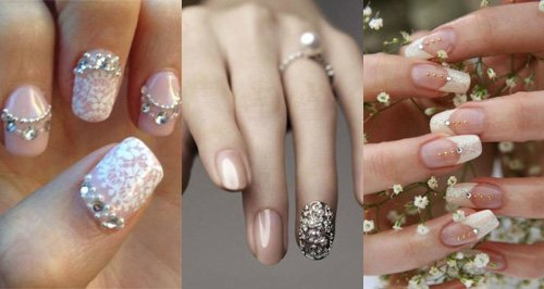 21 Beautiful Bridal Nail Art Designs To Stand Out On Your