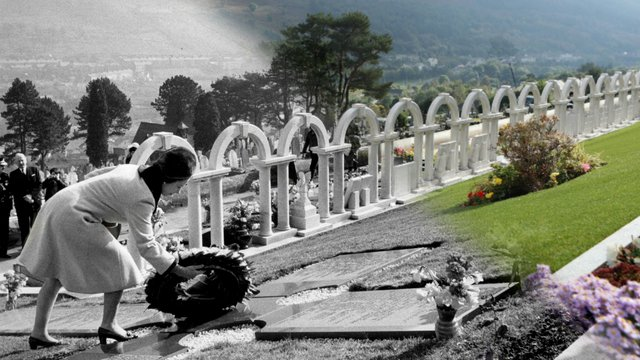 Air Travel Uk Weather Wales Remembers Aberfan 50 Years On Heart Wales