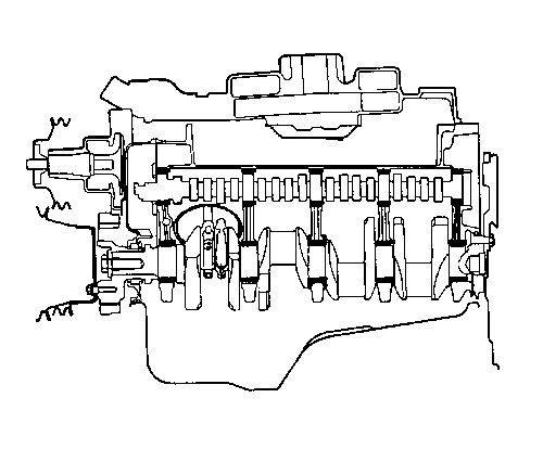 40 Ford Engine Diagram Crankshaft Thrust Schematic Diagram
