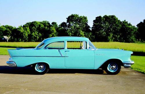 1957 Chevrolet 150 210 Series The Difference Betw