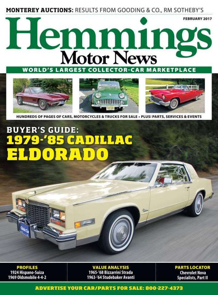 Hemmings Motor News Car Values | Caferacersjpg.com
