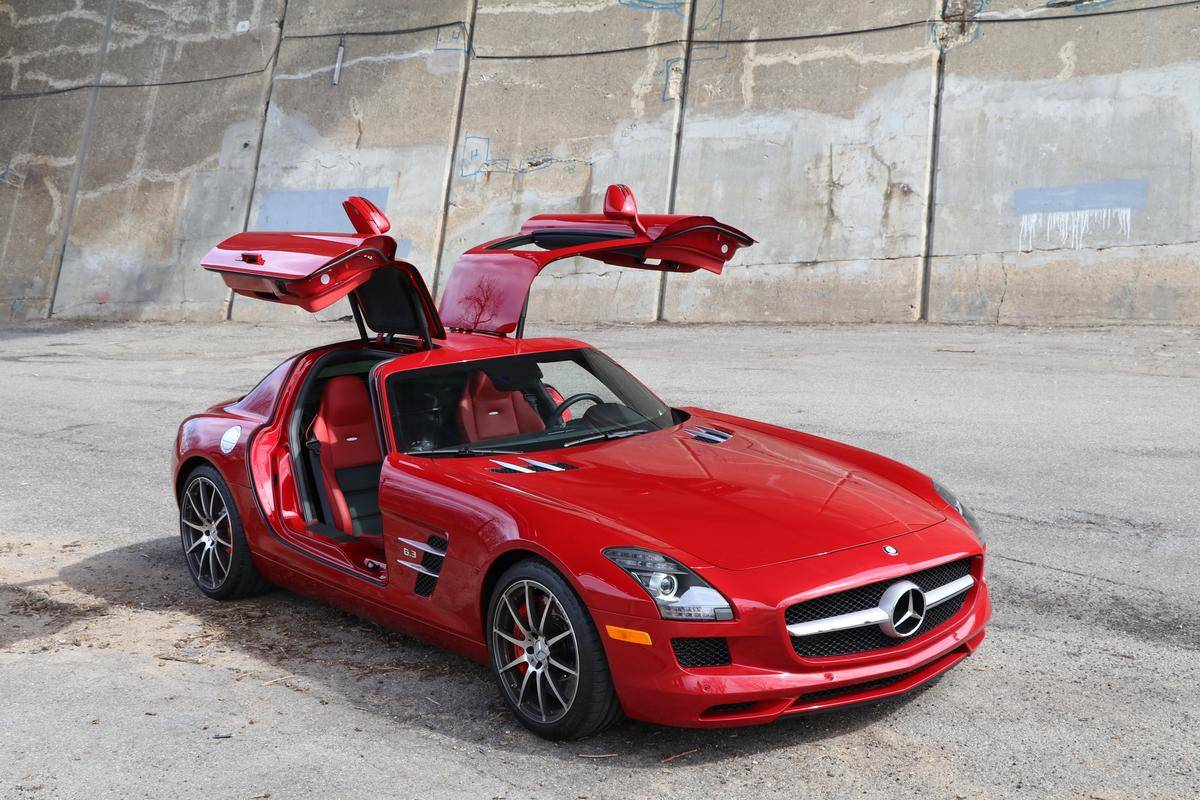 Mercedes - Benz Sls Amg 2012 Mercedes Benz Sls Amg For Sale 1936978 Hemmings