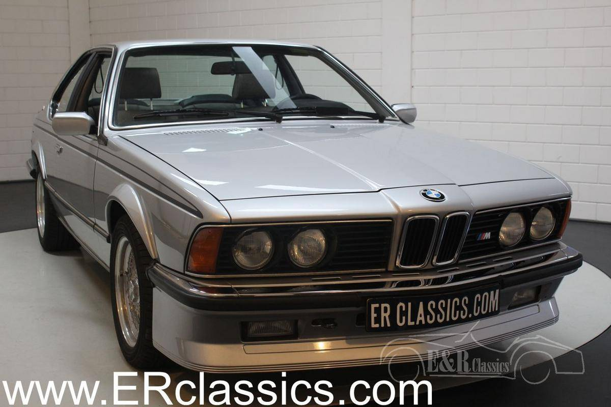Anthrazit Metallic Bmw 1984 Bmw 635csi For Sale 2222587