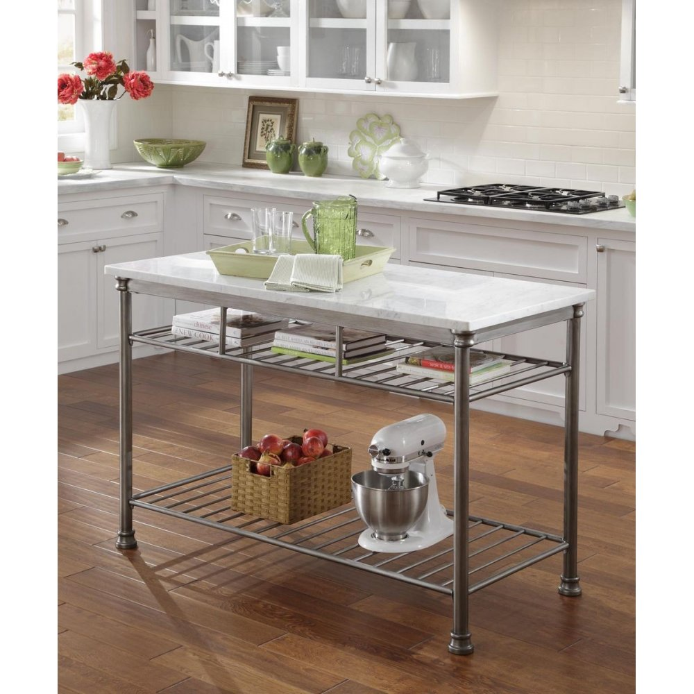 Jcpenney Furniture Kitchen Islands The Orleans Kitchen Island With Quartz White Top Home Styles
