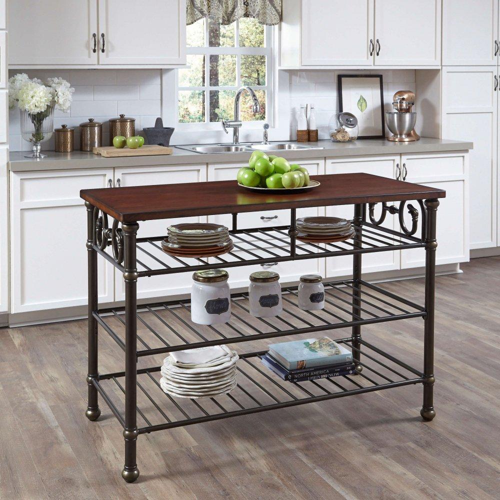 Fullsize Of Kitchen Island With Shelf