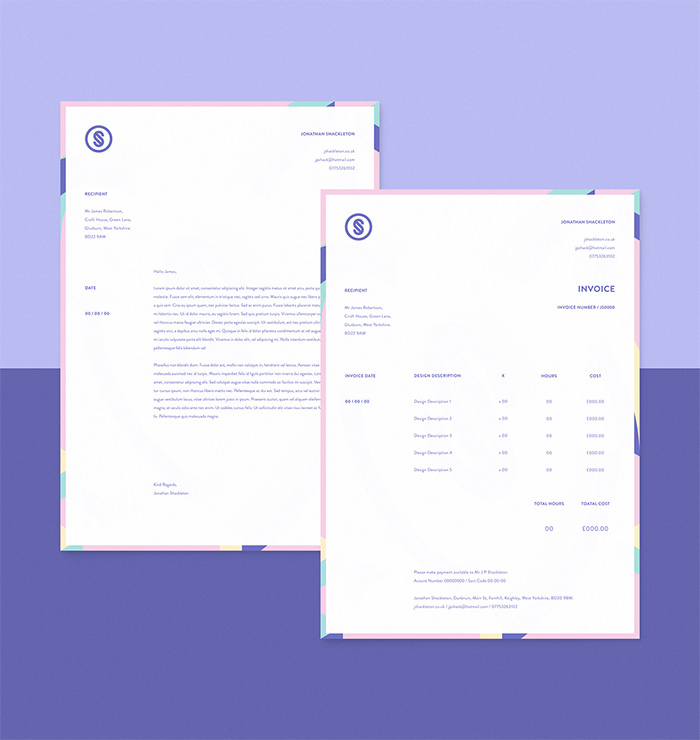 50 Creative Invoice Designs for Your Inspiration - Hongkiat - personal invoice