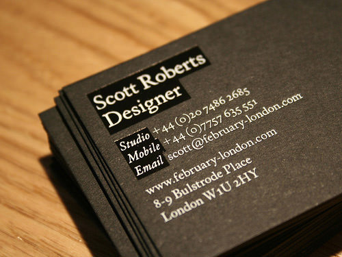 Business Card Design 100+ Creative Examples, Useful Tutorials and - name card