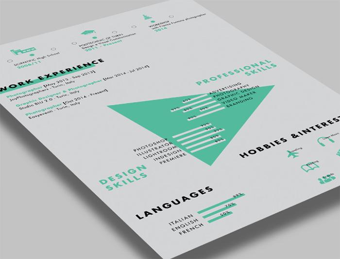 30 Free \ Beautiful Resume Templates To Download - Hongkiat - editable resume template
